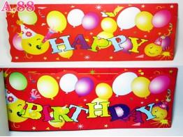 Spanduk Karton Smile 21.5cm x 141cm / Lembar ( A-0615 )