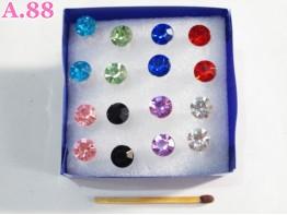 Giwang Mata Warna Warni / Box ( A-2252 )