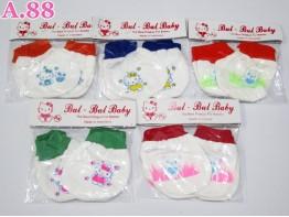 Sarung Tangan Kaki Bayi Set / Lusin (A-2925)