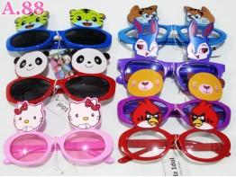 Kacamata Anak Kartun /  2 pcs ( A-3273 )