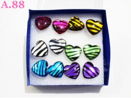 Giwang Love Garis / Box ( A-4530 )
