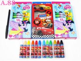 Crayon Disney isi 12 /  2 kotak ( A-5425 )