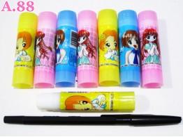 Glue Stick Gambar Cewek / 8 pcs ( A-5513 )