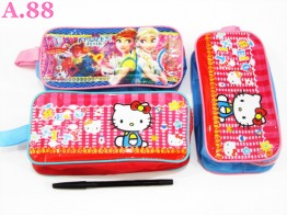 Dompet Pensil Kitty Frozen / 2 pcs ( A-5520 )