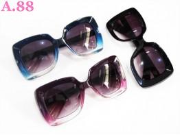 Kacamata Cewek  Bingkai Besar / 2 pcs ( A-5557 )