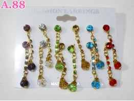 Anting Emas Jurai Mata / papan (A-5616)
