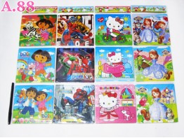 Puzzle Disney 3 Renceng / 4 pack ( A-5726 )