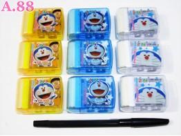 Serutan + Hapusan Doraemon / 4pcs (A-5935)