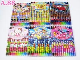 Crayon Putar Besar  / lusin (A-5936)