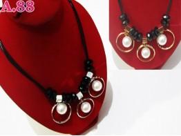 Kalung  Fashion Tali  Lima / 2 pcs ( A-6006 )