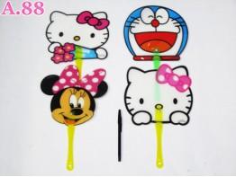 Kipas Karakter Kitty  Miki / lusin (A-7303)