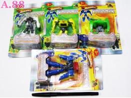 Robot Mobil Kecil / 2 pcs ( A-6196 )