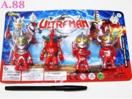 Patung Ultraman Isi 4 / 2 pack ( A-6198 )