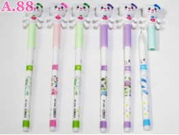 Pulpen Gel Kitty Pita / lusin ( A-6210 )