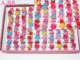 Cincin Anak Kitty Isi 100 / 1 box ( A-6235 )