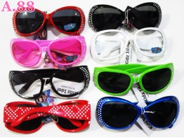 Kacamata Anak Gliter / 2pcs (A-6274)