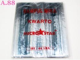 Sampul Buku Plastik 22cmx 29cm / 20 lembar ( A-6343 )