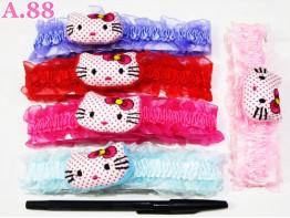 Bandana Bayi Bantal Kitty / lusin ( A-6459 )