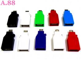 Card Reader Micro OTG  Polos / 3 pcs ( A-8162 )