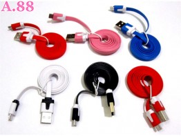 Kabel Data Kombimasi Warna / 3 pcs ( A-8165 )