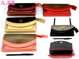 Tas Selempang Channel Dua Warna / 2 pcs ( A-8172 )