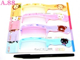 Sisir Kecil Gagang Fancy / 10 pcs ( A-8230 )