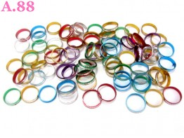 Cincin Metalik Isi 100 / 1 bungkus ( A-8285 )