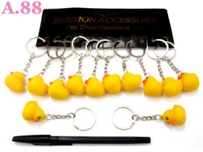 Gantungan Kunci Bebek Karet / lusin ( A-8307 )