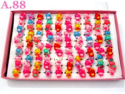 Cincin Anak Kitty Isi 100 / 1 box ( A-8310 )