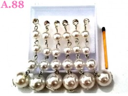 Anting Lima Mote Juntai / 1 box ( A-8326 )