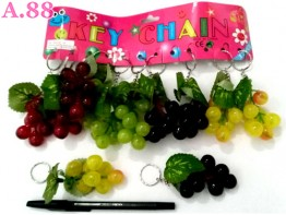 Gantungan Kunci Anggur / lusin ( A-8342 )