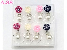 Anting Rose Ring Mote / 1 box ( A-8370 )