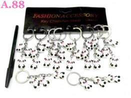 Gantungan Kunci Tiga Panda / lusin ( A-8397 )