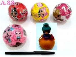Mainan Telur L.O.L / 2 pcs ( A-8406 )