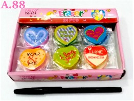 Hapusan Love Isi 24 / 1 box ( A-8514 )