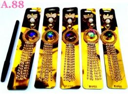Bros Kupu Ring Jurai Enam Rantai/4pcs (A-8575)