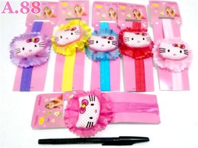 Bandana Anak Kitty Bantal /lusin (A-8576)