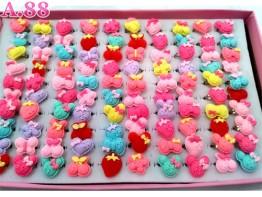 Cincin Anak Kupu Miki Isi 100 /box (A-8628)