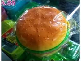 Kotak Makan Hamburger / 3 pcs ( A-8648 )
