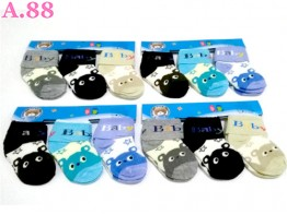 Kaos Kaki Bayi Lipat Bintang /6psg (A-8665)