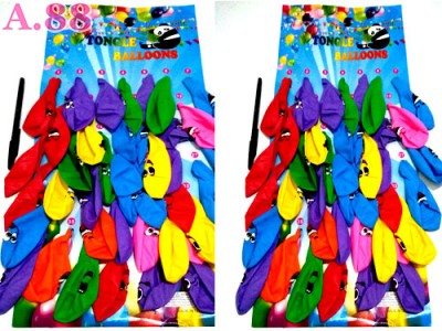 Balon Mata Smile Isi 40 / papan (A-8667)