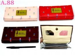 Dompet Selempang Cewek Bunga/2pcs (A-8675)