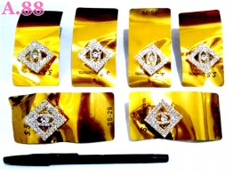 Ring Jilbab Full Mata Bujur /lusin (A-8712)