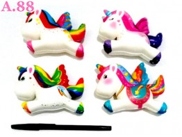 Squisi Unicorn / 3pcs (A-8729)