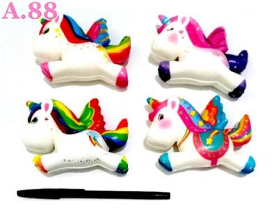 Squisi Unicorn / 3pcs (A-8729)