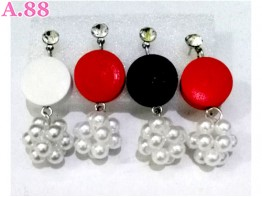 Anting Bulat Jurai Mote Box /3psg (A-8730)