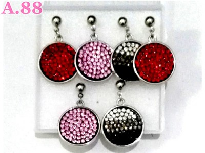 Anting Bulat Full Mata Box/3psg (A-8731)