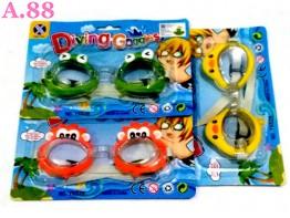 Kacamata Renang Kartun / 2pcs (A-8765)