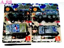 Mobil Tentara Isi 2 /2set (A-8772)