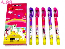 Pulpen Gel Unicorn /lusin (A-8795)